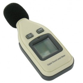 NedRo - Digital Sound Level Meter Decibel Tester Noise Analyzer 30-130dB - Test equipment - AL585 www.NedRo.us