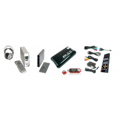 Various laptop accessories