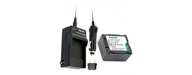 Photo-video battery chargers